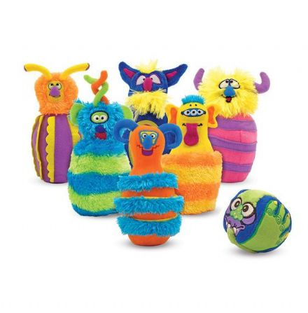 Melissa & Doug Soft Play Monster Bowling Set